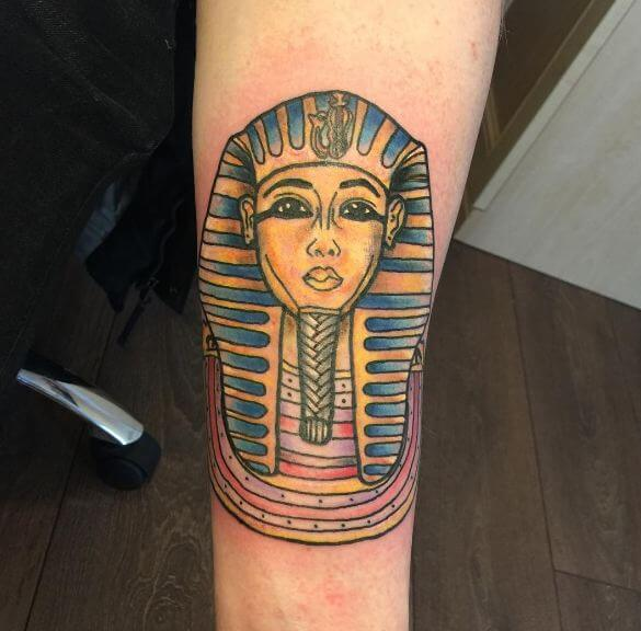 Egyptian mummy Tattoos