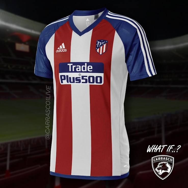 What If Adidas Fc Barcelona Atletico Madrid Malaga Concept Kits By Carrasco Footy Headlines