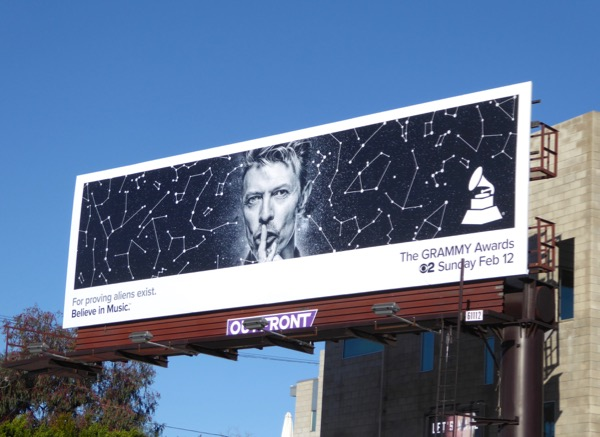 2017 Grammys David Bowie billboard