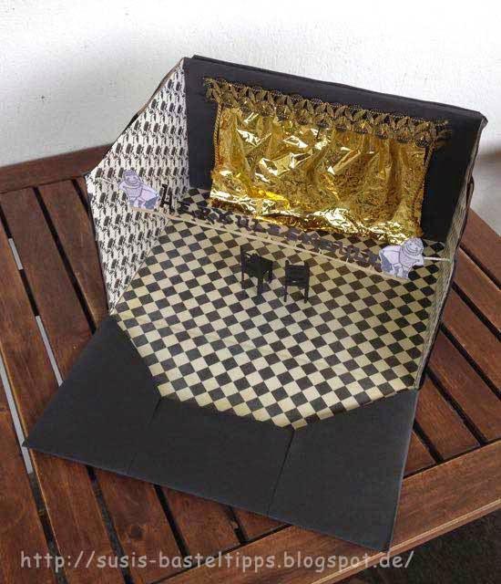 susi 39 s basteltipps theater gutschein kreativ verpackt. Black Bedroom Furniture Sets. Home Design Ideas
