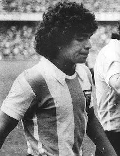 debut de Maradona con Argentina