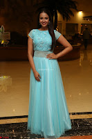 Pujita Ponnada in transparent sky blue dress at Darshakudu pre release ~  Exclusive Celebrities Galleries 023.JPG