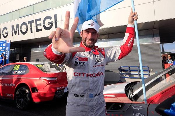 Pechito López se coronó tricampeón del WTCC