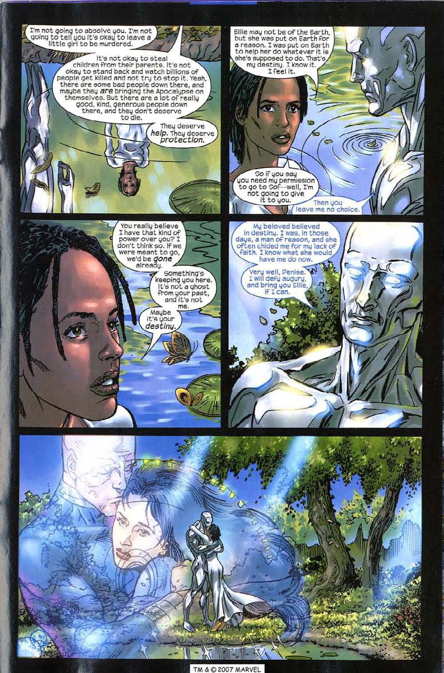 Read online Silver Surfer (2003) comic -  Issue #11 - 31