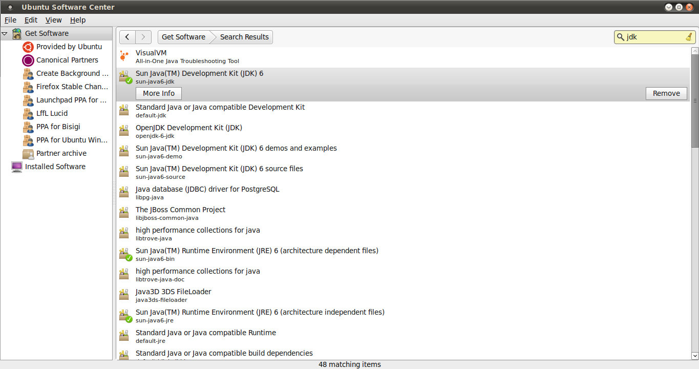 Linux, Ubuntu, Python and more   : How to install Java 6 and Java