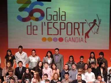 XXXVI Gala del deporte de Gandia