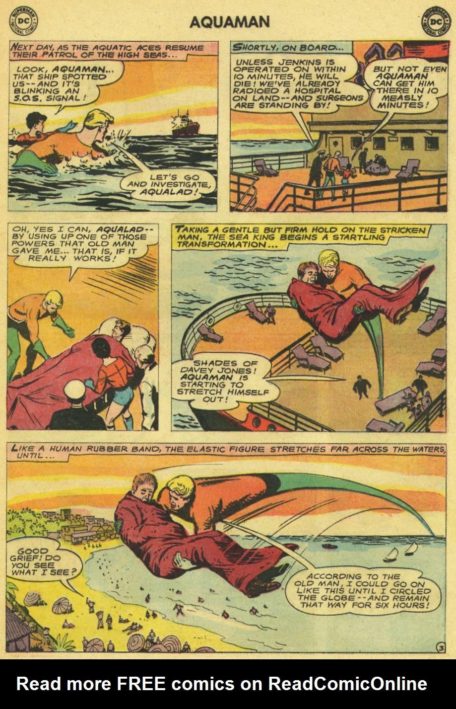 Read online Aquaman (1962) comic -  Issue #14 - 5