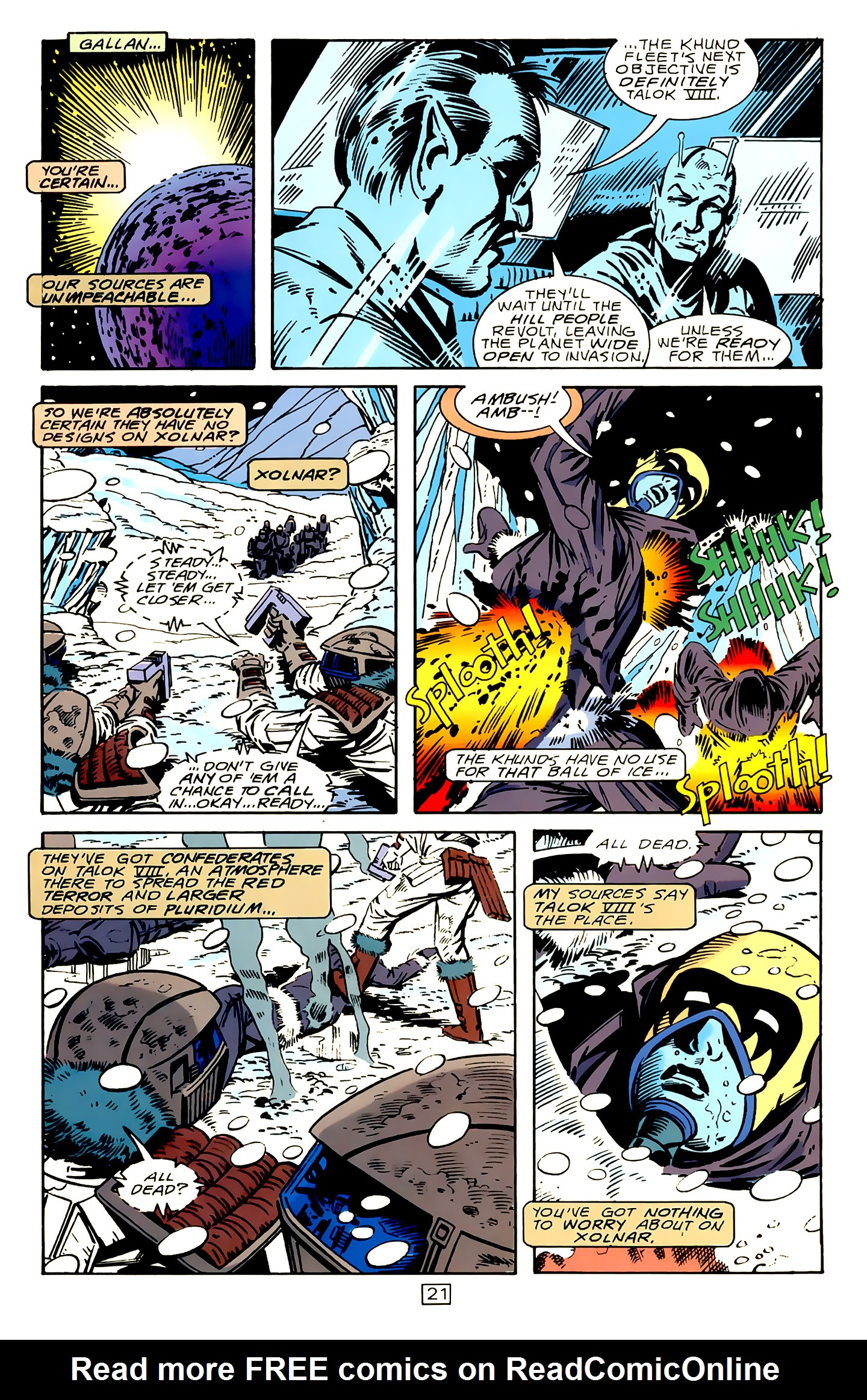 Legion of Super-Heroes (1989) 15 Page 21