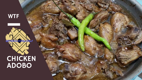 "Adobo - The ""unofficial"" national dish of the Philippines"
