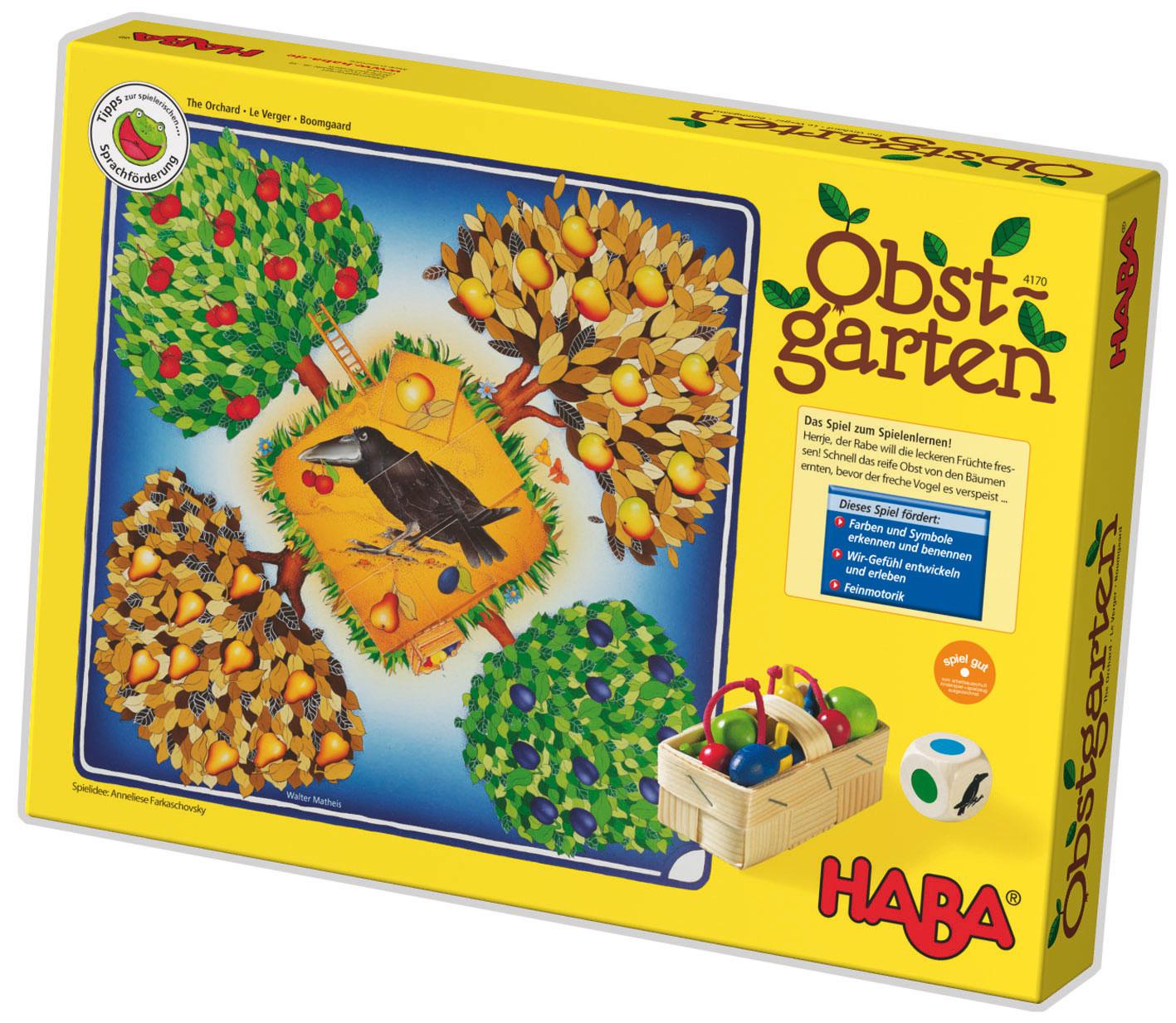 Obstgarten Spielanleitung
