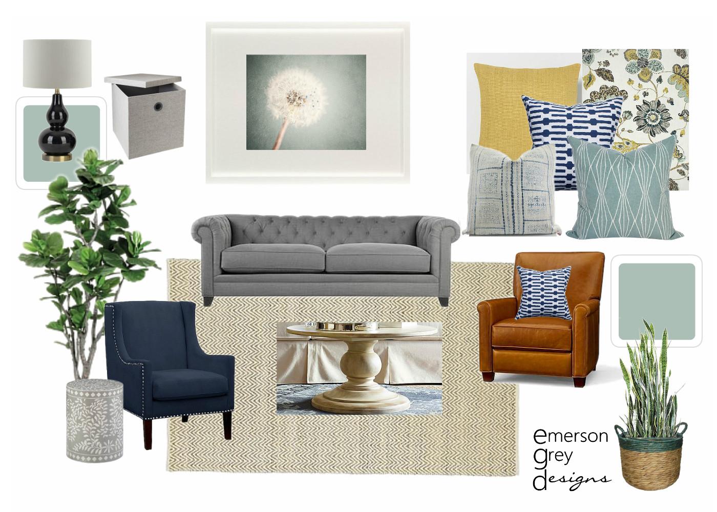 Emerson Grey Designs : E-design interior stylist: Living ...