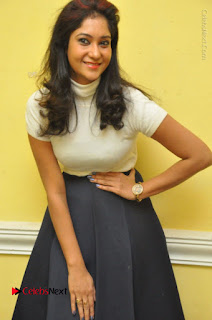 Telugu Actress Sindhu Affan Latest Pos in Black Skirt at Www.Meena Bazaar Movie Opening  0009.JPG