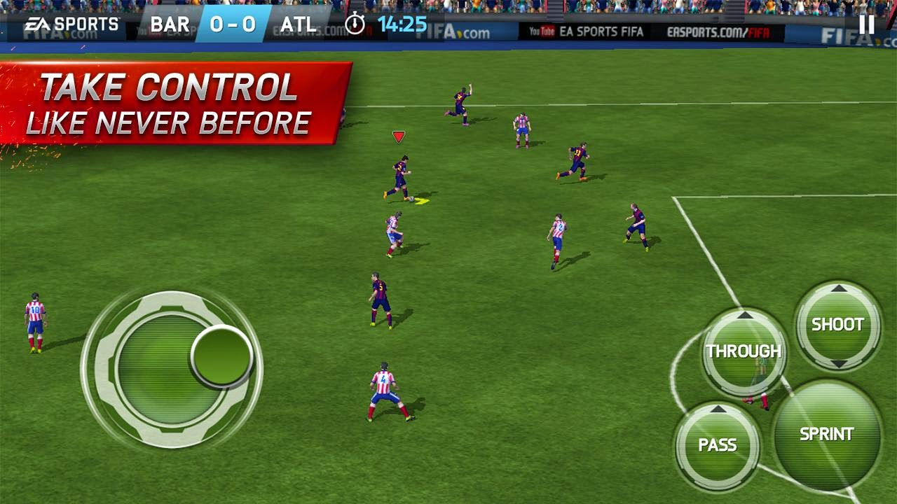 FIFA 15 android gameplay