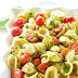 Caprese Pesto Pasta Salad #Recipe