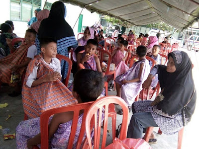 Kodim 0308 Gelar Sunatan Massal bagi Anak Kurang Mampu se Kota dan Kabupaten