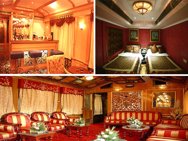 Palace on Wheels Facilities