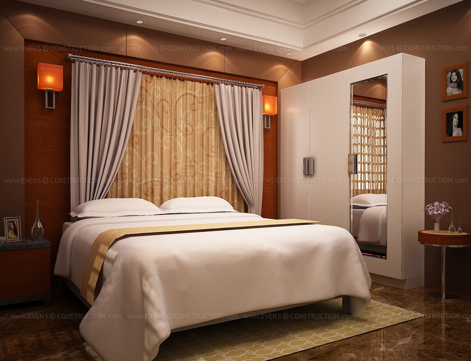 Bedroom Ceiling Designs Kerala Evens Construction Pvt Ltd Awesome Kerala Home Bedroom