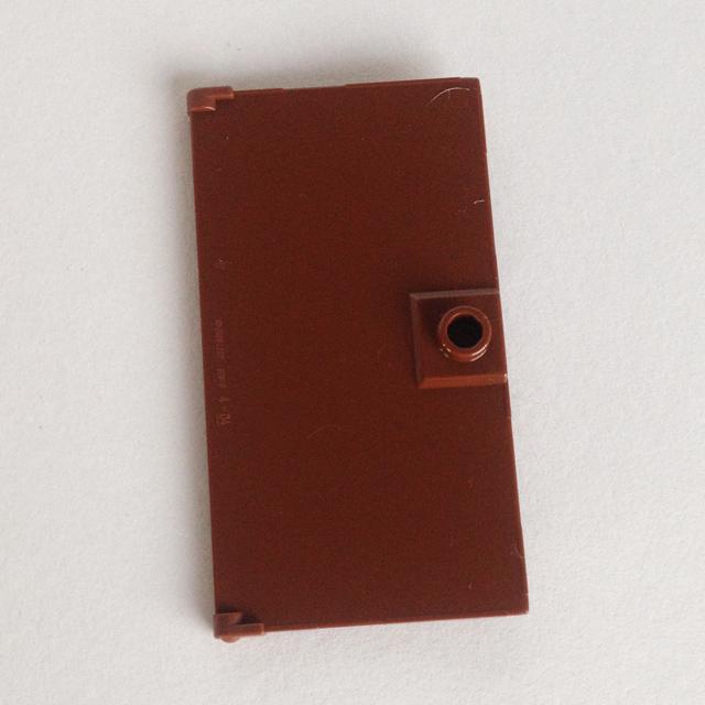 Pack of 1 Door 1x4x6 with Stud Handle 60616 REDDISH BROWN LEGO Parts NEW