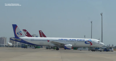 Airbus A321-200, VQ-BOZ, Ural Airlines