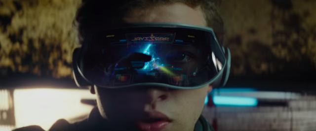 Wade ou Parzival (Tye Sheridan) dans l'Oasis, dans Ready Player One, réalisé par Steven Spielberg (2018)