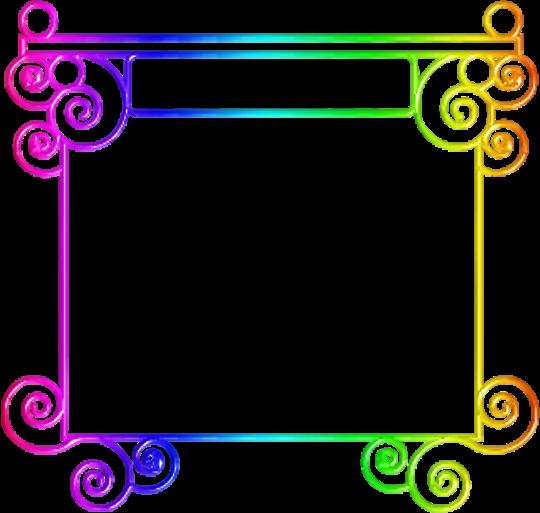 Zoom dise o y fotografia marcos de colores frames png - Neones decorativos ...