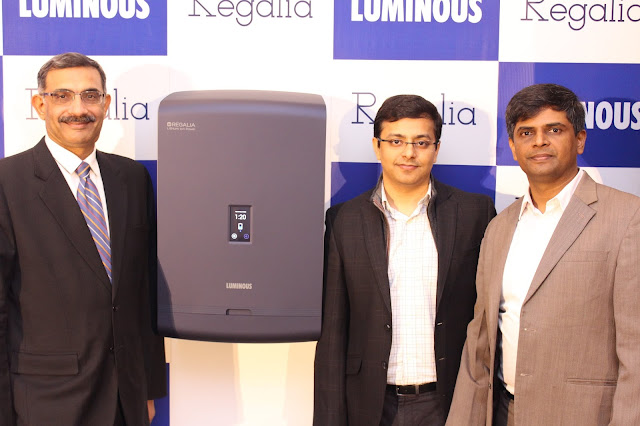 "Luminous unveils wall-mounted power backup system called ""Regalia"""