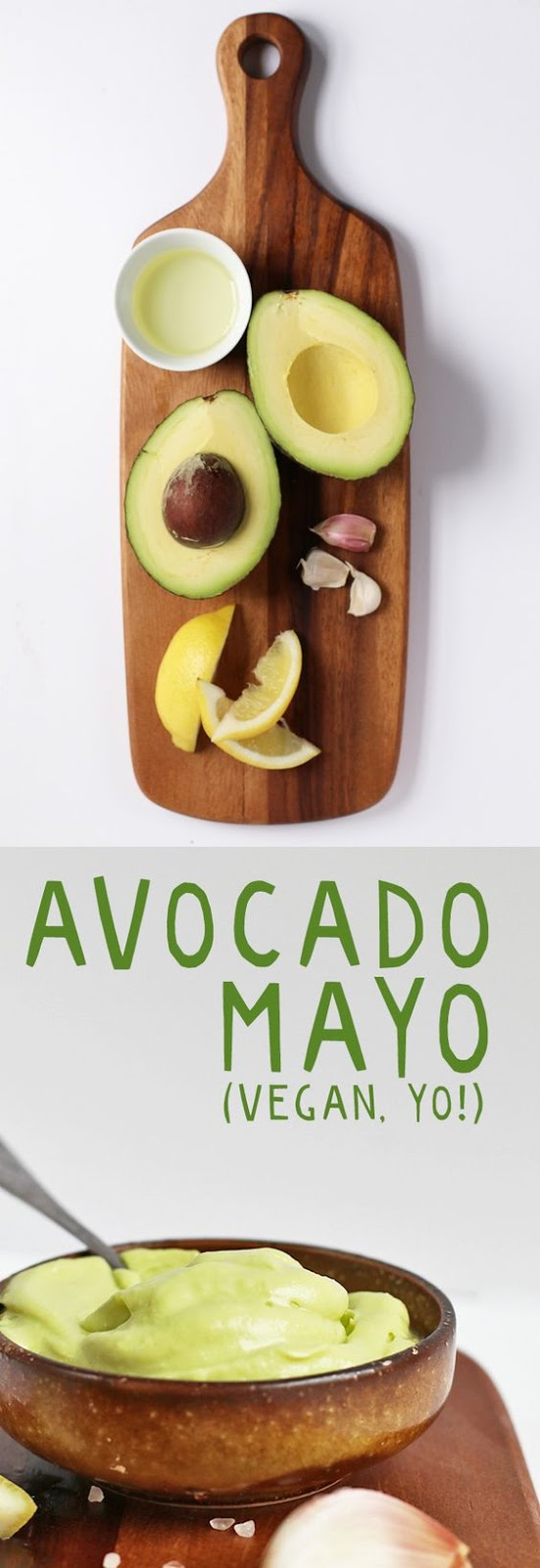 VEGAN AVOCADO MAYO (OIL FREE!) #avocado #mayo #oilfree #vegan #veganrecipes #veggies