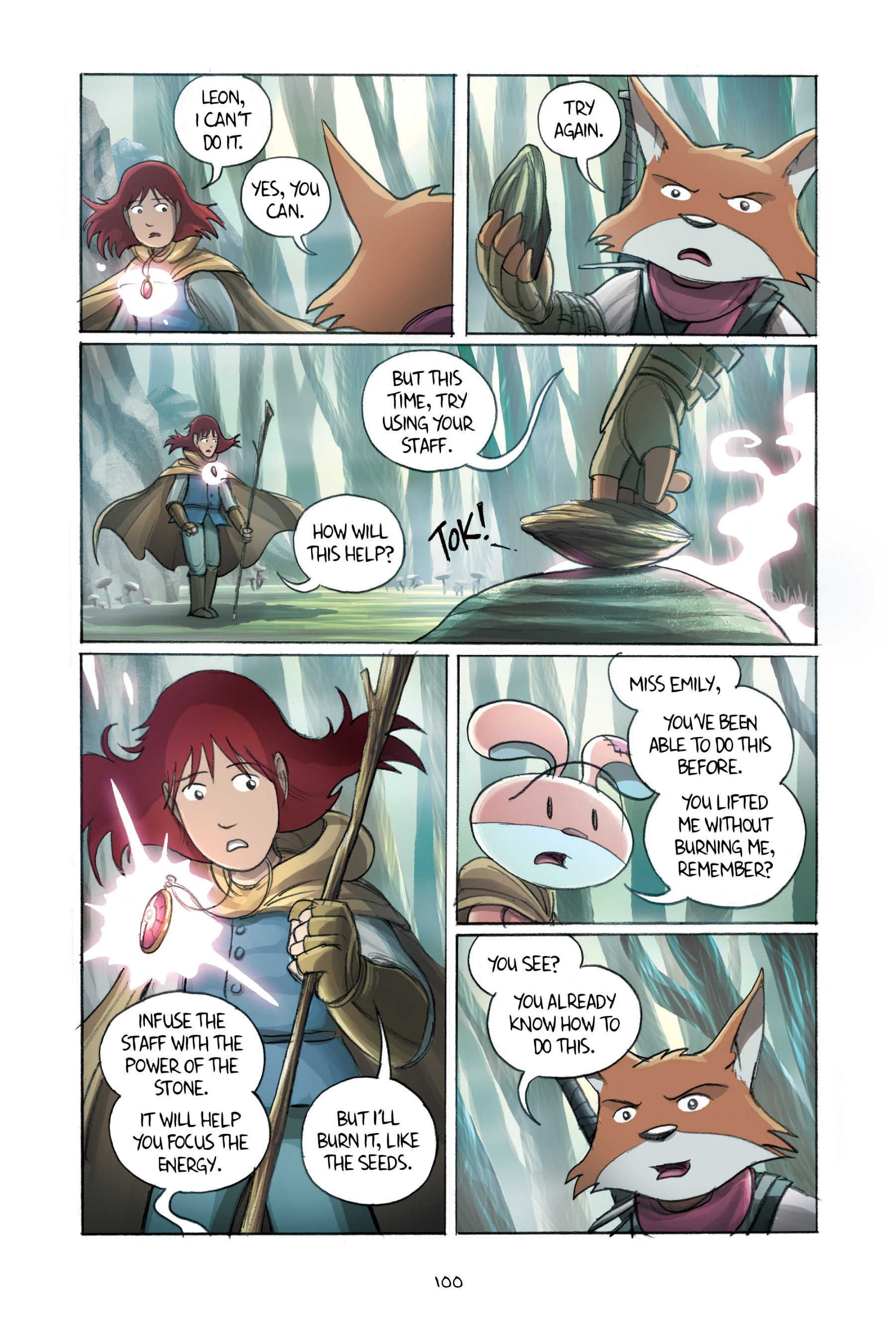 Read online Amulet comic -  Issue #2 - 100