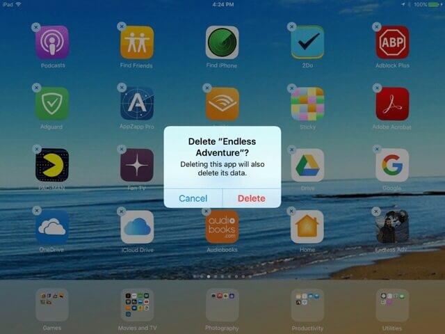 Cara Menghapus Aplikasi iPad