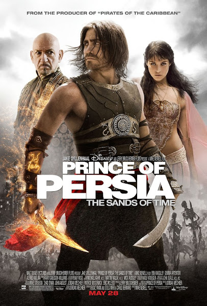 Poster Of Prince of Persia The Sands of Time 2010 720p Hindi BRRip Dual Audio