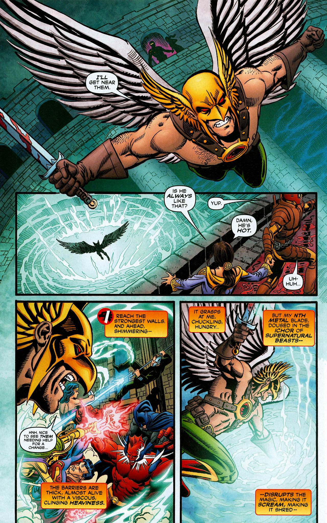 Read online Trinity (2008) comic -  Issue #16 - 26