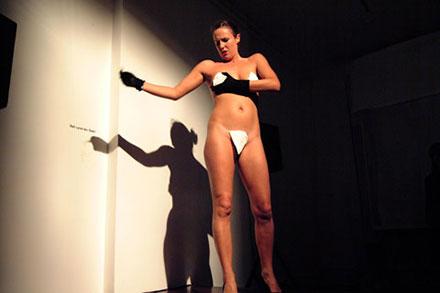 Nude Female Magician 55