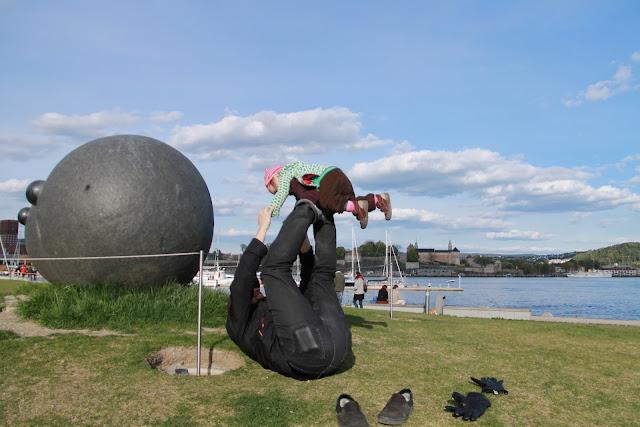 Aker Brygge Skulpturepark, Oslo Norway
