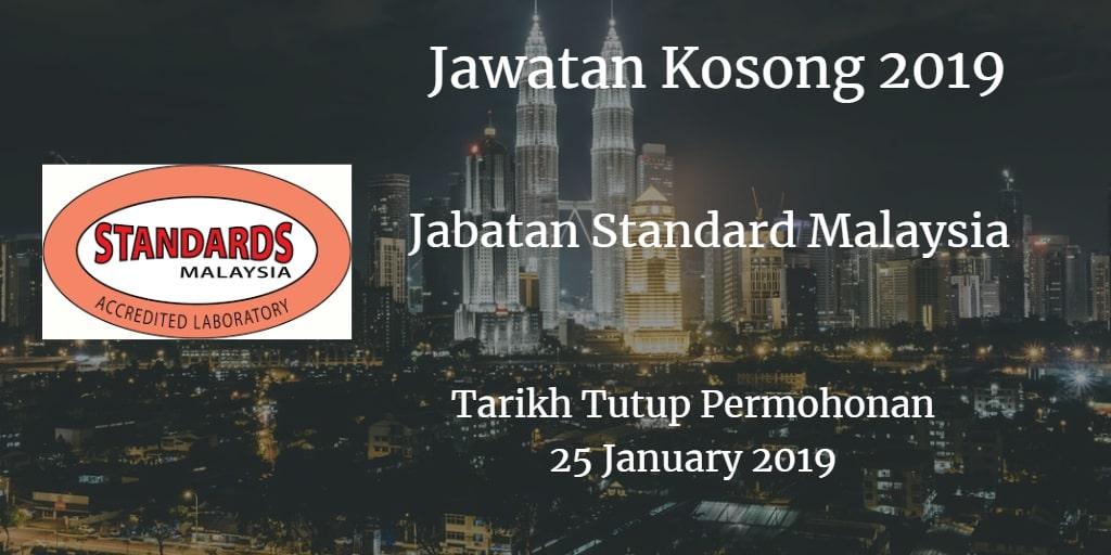 Jawatan Kosong JSM 25 January 2019