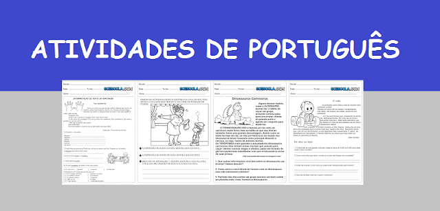 Atividades de português 4° ano interpretação de texto