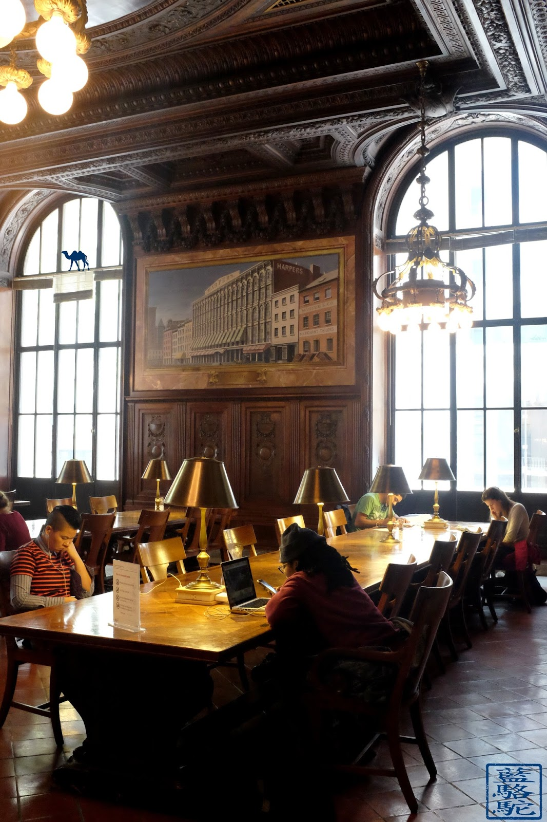 Le Chameau Bleu - La DeWitt Wallace Periodical Room