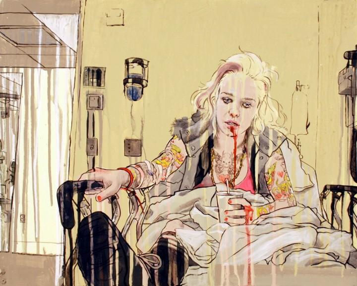 Thea Wolfe. Рисунки акварелью 4