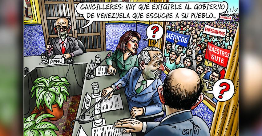 Carlincaturas Miércoles 9 Agosto 2017 - La República
