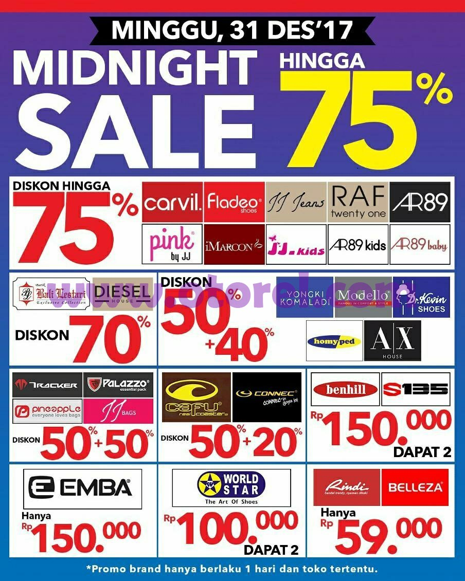 Ramayana Department Store Midnight Sale Diskon Hingga 70%