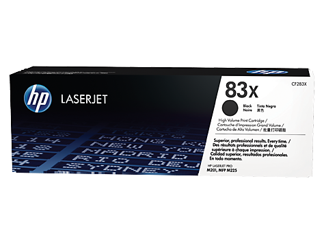 HP CF283X and CF283A Toner Cartridges