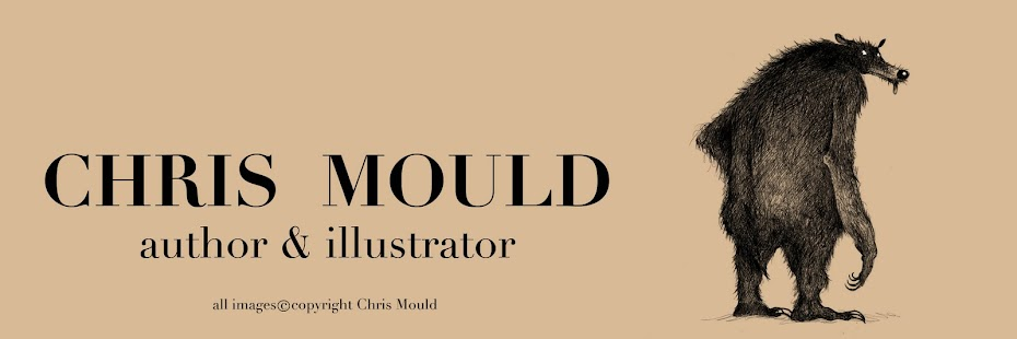 The Scribblemanic World of CHRIS MOULD
