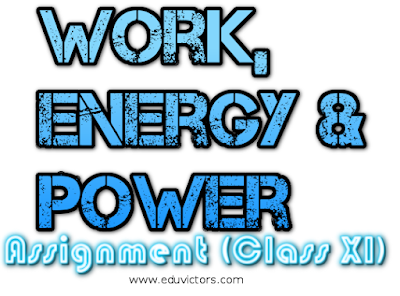 CBSE Class 11 - Physics - Work, Energy and Power (Assignment-1) (#cbseNotes)