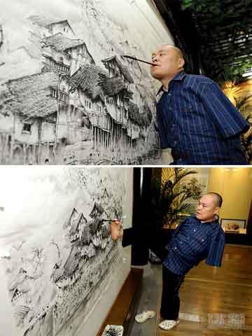 Huang Guofu Kehilangan Kedua Lengannya