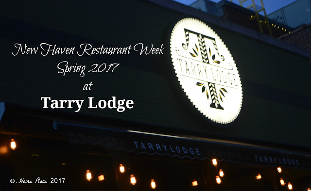 Spring: New Haven Restaurant Week 2017 at Tarry Lodge