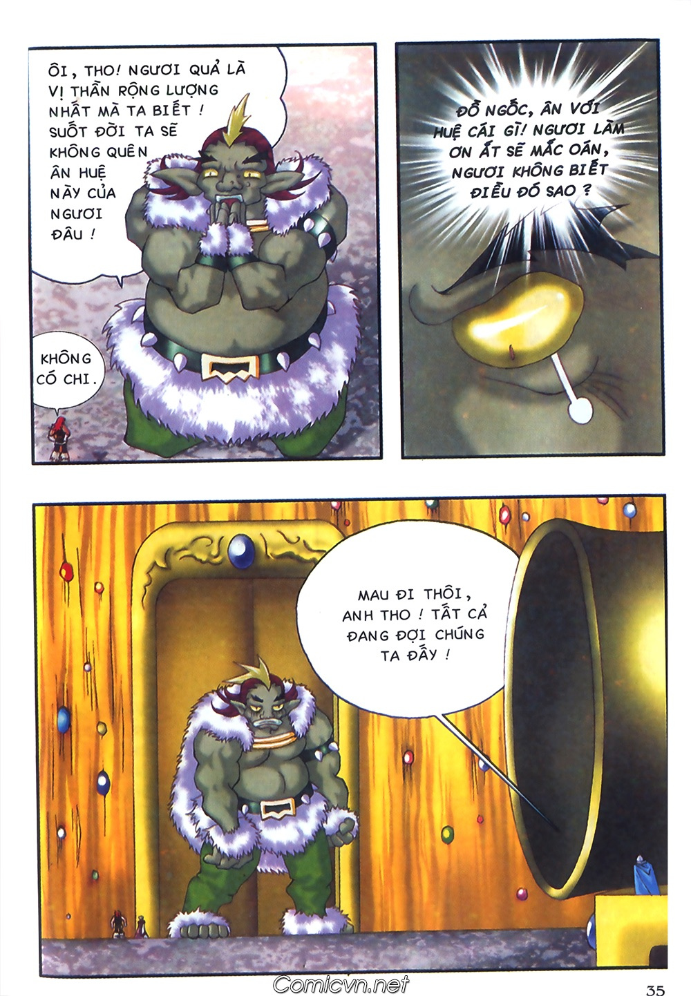 Thần thoại Bắc Âu - Chapter 37: Lão cha dượng xấu tính - Pic 36