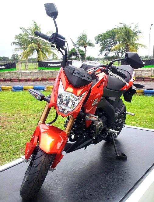 KMI Resmi Rilis Kawasaki Z125