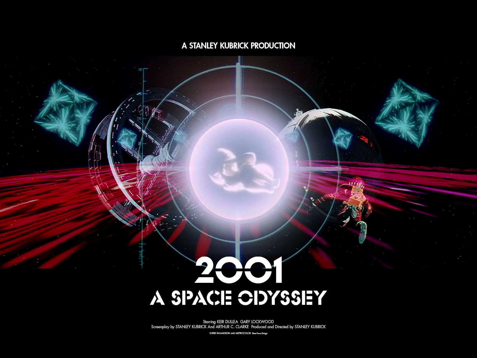 Silver ferox design 2001 a space odyssey stanley for Design a space