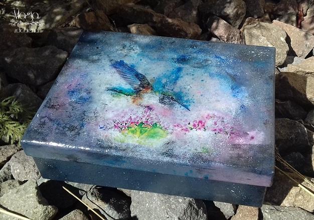 171. Pudełko z Koliberkiem