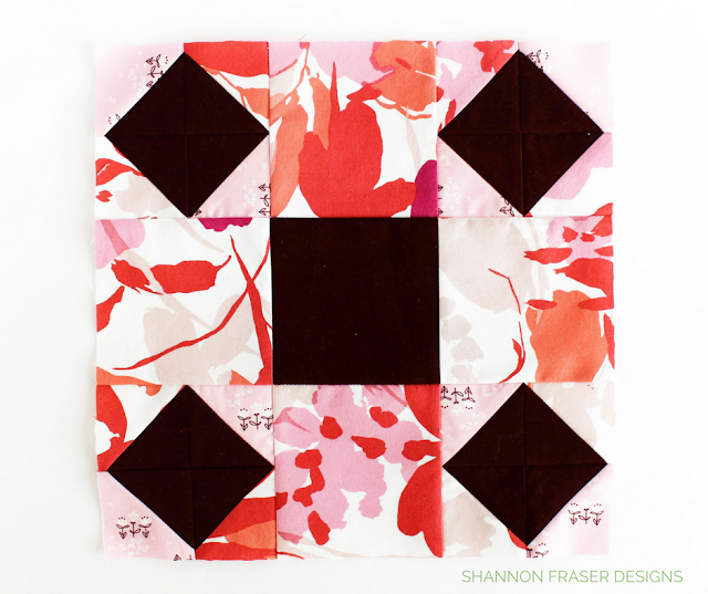 Spools Quilt Block | Shannon Fraser Designs | Modern Quilting | Sew-A-Long | Sewcial Bee Sampler with Sharon Holland Designs & Maureen Cracknell
