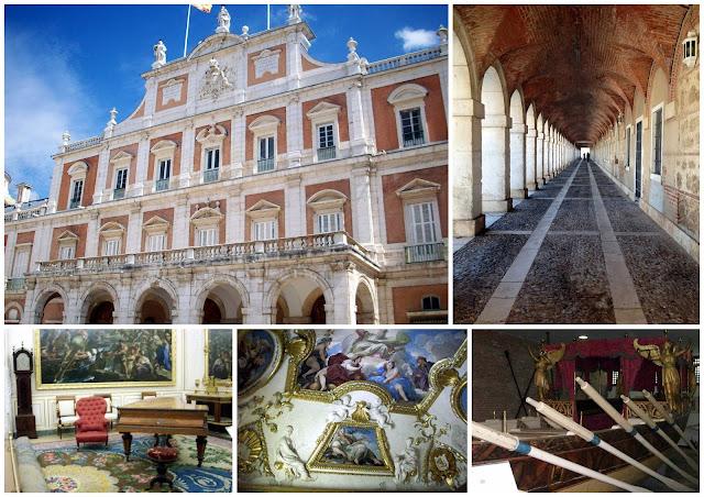visitar el interior del palacio real de Aranjuez